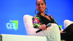 Grammy Award-winner Alicia Keys at CES 2020